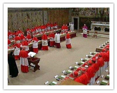 Процес обрання Папи Римського