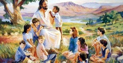 дети и Исус