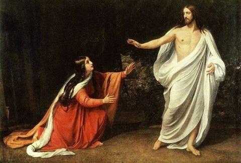 До кого приходить Ісус після воскресіння